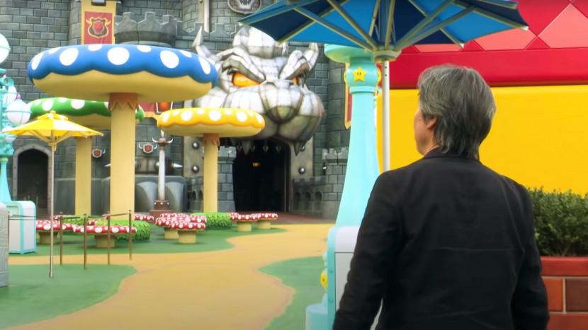 Video: Shigeru Miyamoto geeft uitgebreide rondleiding in Super Nintendo World