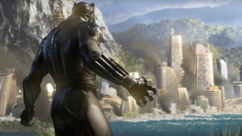 Black Panther op weg naar Marvel's Avengers