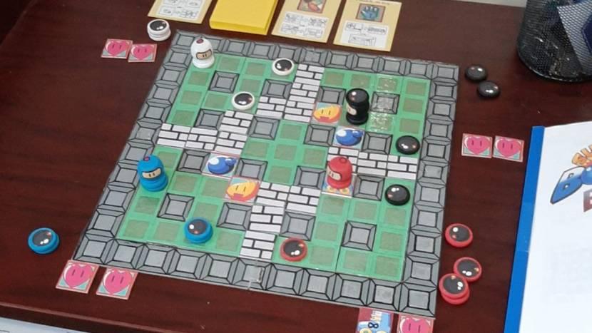 Bomberman bordspel geannuleerd
