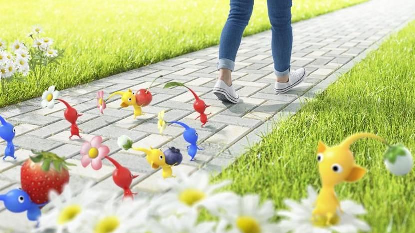 Nieuwe mobile game van Nintendo wil wandelen leuker maken dankzij Pikmin