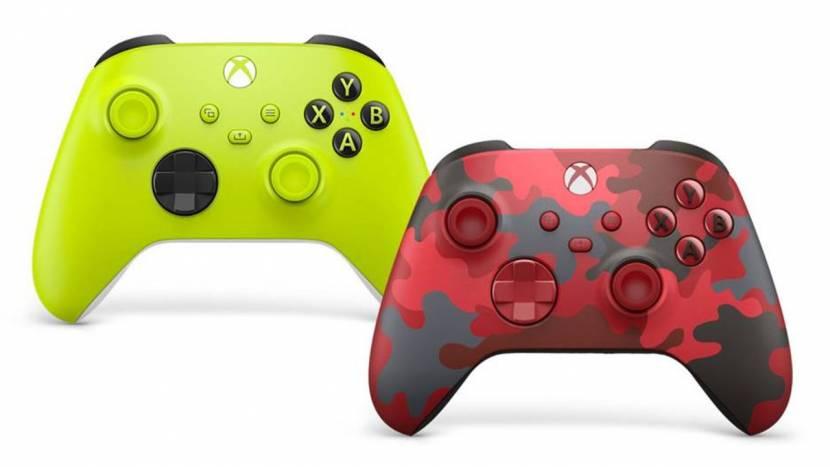 Xbox controller verschijnt binnenkort in twee nieuwe kleurtjes