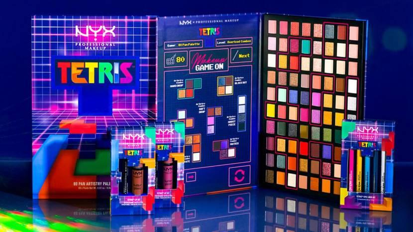 Tetris krijgt een eigen make-up collectie