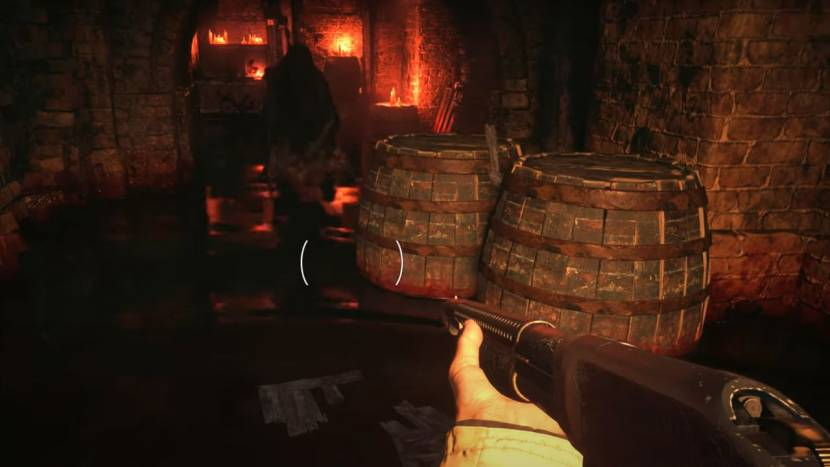 Knallende horroractie in eerste PS4 Pro gameplay van Resident Evil Village