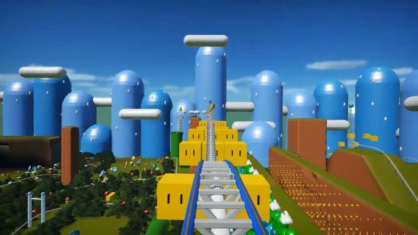 Fan maakt knappe Mario rollercoaster in Planet Coaster