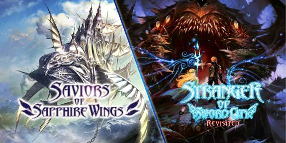 REVIEW   Saviors of Sapphire Wings/Stranger of Sword City Revisited