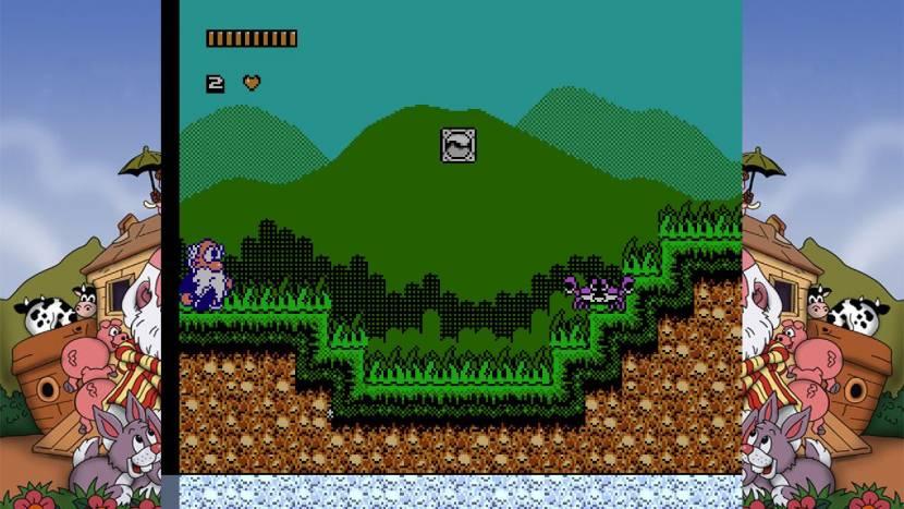Oude NES-platformer Noah's Ark is er nu ook op pc