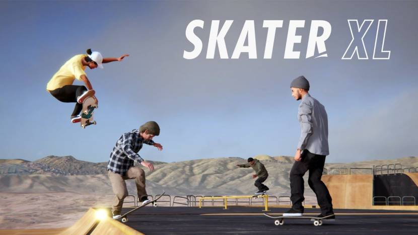 Multiplayer mode voor Skater XL