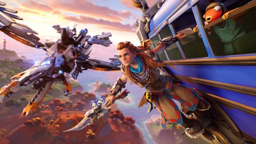 Fortnite verwelkomt Aloy van Horizon Zero Dawn