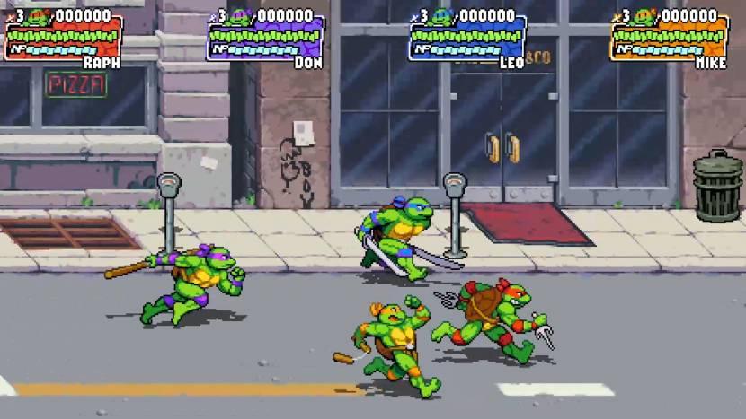 Meer gameplay van Teenage Mutant Ninja Turtles: Shredder's Revenge