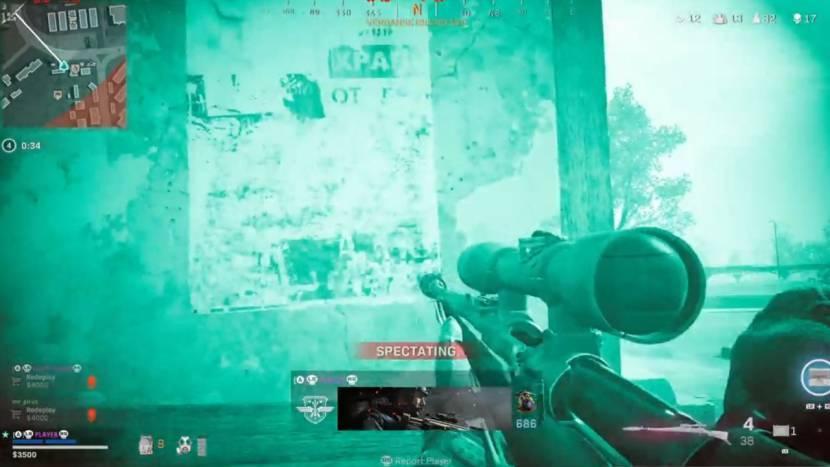 Call of Duty: Warzone hackers gebruiken nu night-vision goggles, die niet eens in de game zitten