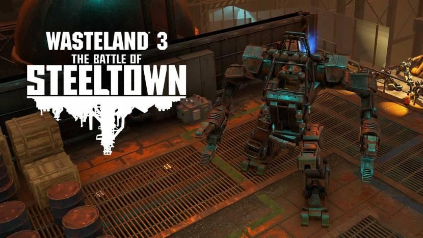 The Battle of Steeltown eerste grote uitbreiding voor Wasteland 3