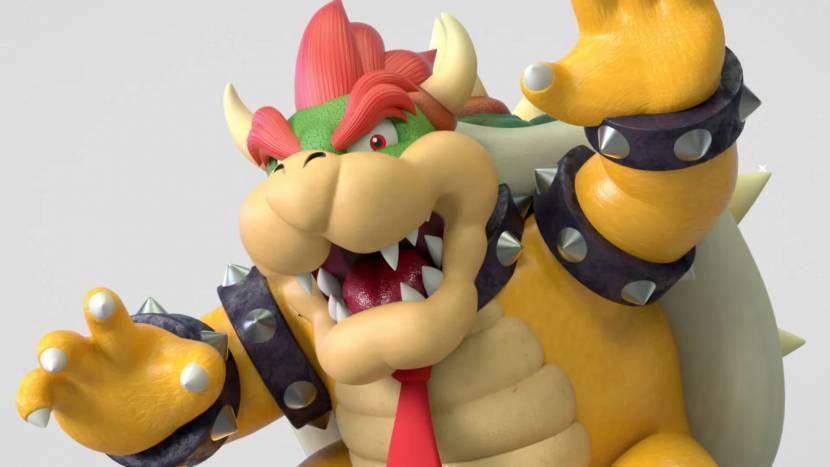 Bowser aangeklaagd door Nintendo