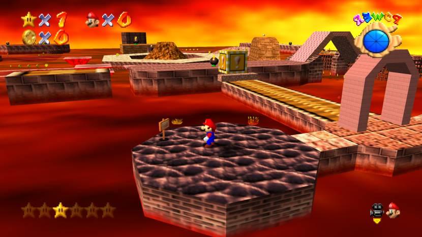 Super Mario 64  Plus voegt heel wat snufjes toe aan de game