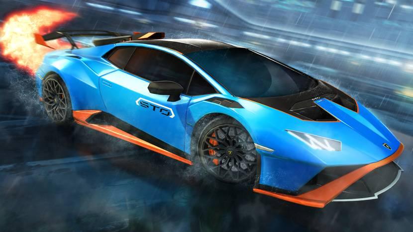 Lamborghini Huracan maakt opwachting in Rocket League