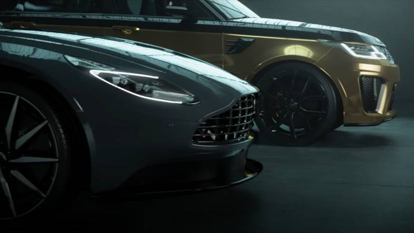 Range Rover vs. Aston Martin in Test Drive Unlimited Solar Crown