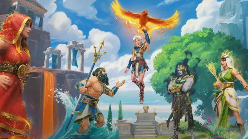 The Lost Gods DLC gelanceerd voor Immortals Fenyx Rising