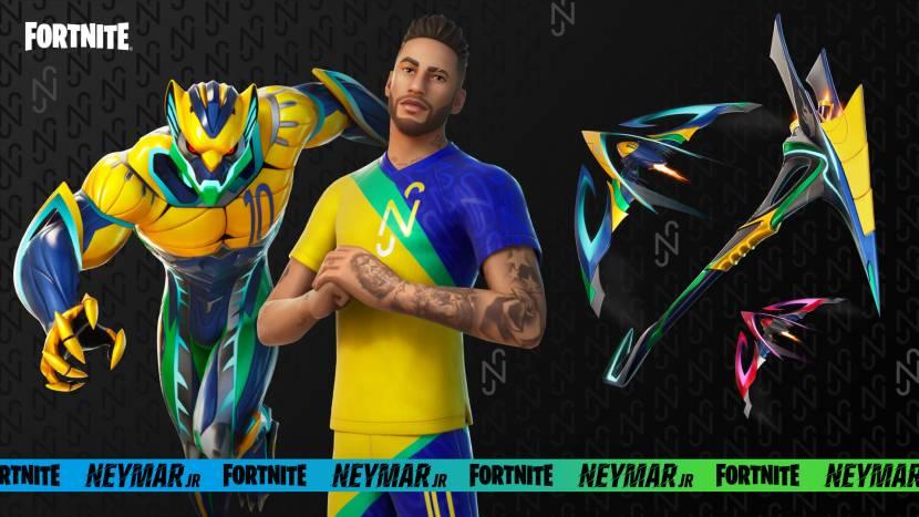 Neymar Jr. verschijnt morgen in Fortnite