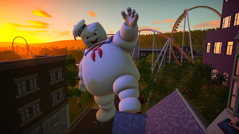 Ghostbusters uitbreiding voor Planet Coaster deze week naar consoles
