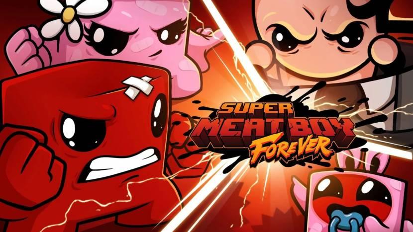 REVIEW | Super Meat Boy Forever loopt vanzelf tegen de muur