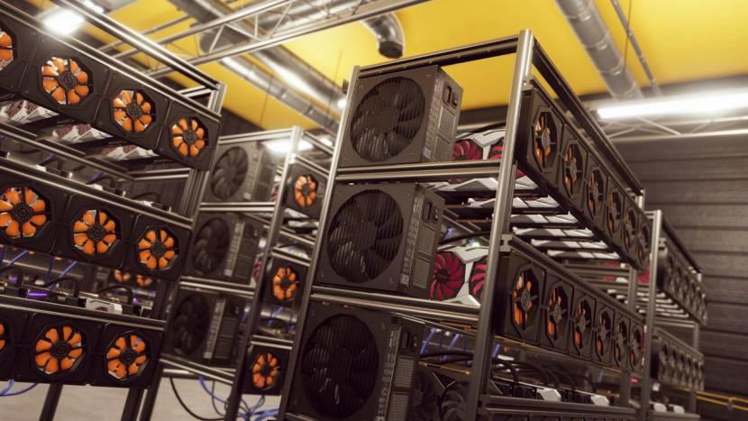 Geen tekort aan grafische kaarten in Crypto Mining Simulator