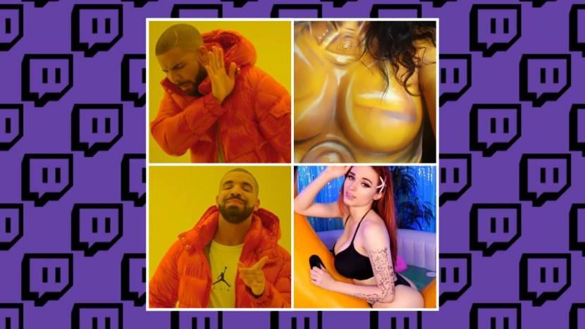 Hot tub streams lijken geen probleem voor Twitch, maar cosplayer met body paint krijgt wel een ban
