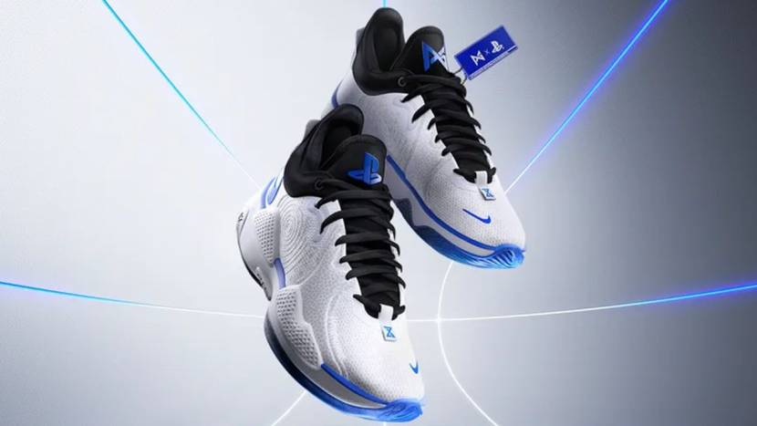 Paul George + PlayStation + Nike = deze basketbalschoenen