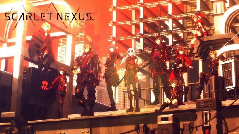 Scarlet Nexus toont zijn opening movie