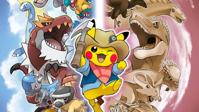 In Japan wordt Pikachu ingeschakeld om paleontologie te promoten