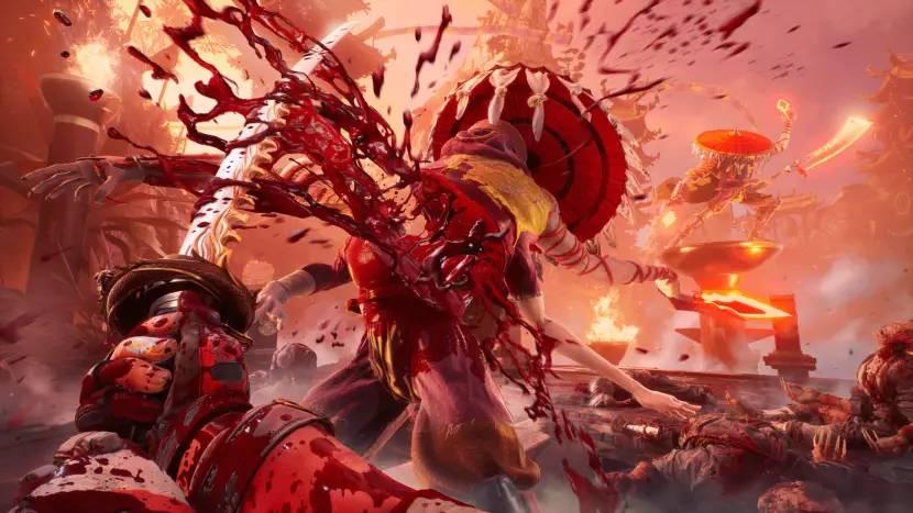 Nieuwe gameplay van Shadow Warrior 3 toont weer heerlijk bloederige over-the-top actie
