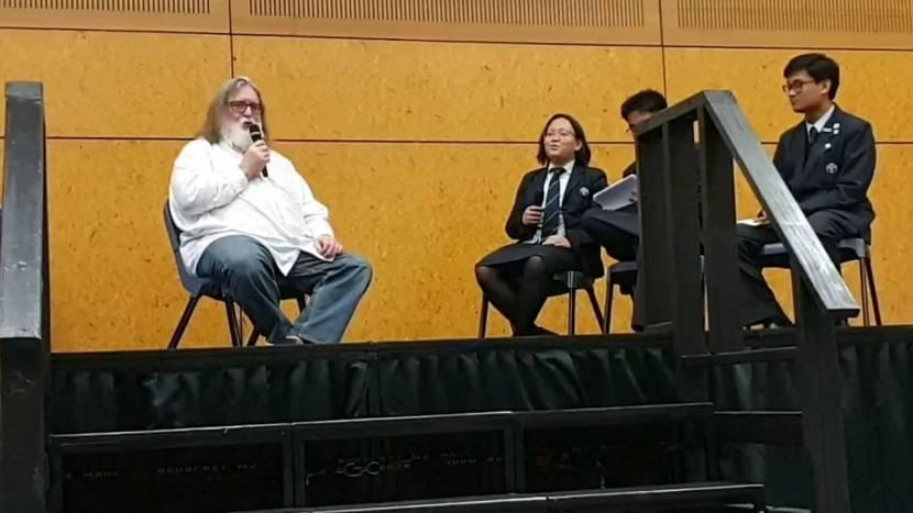 """Steam naar consoles? """"Eind dit jaar meer duidelijkheid,"""" zegt Gabe Newell"""