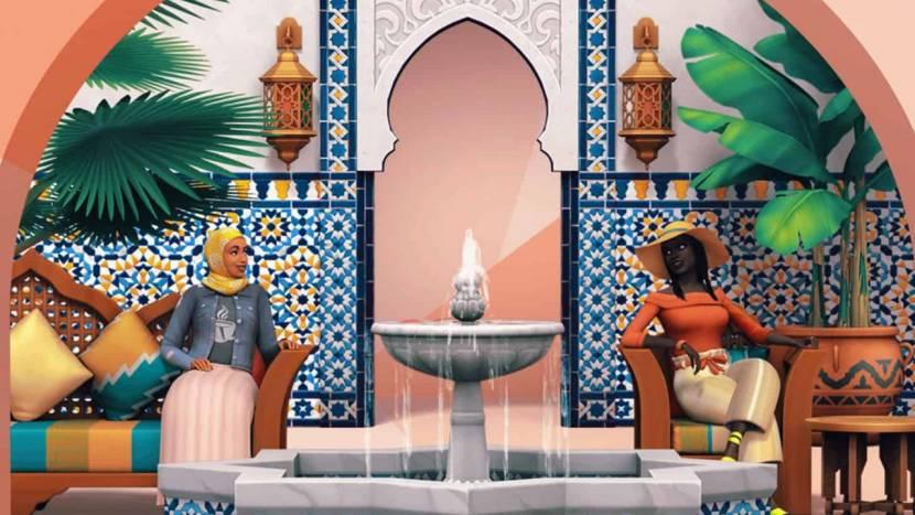 Courtyard Oasis DLC aangekondigd voor The Sims 4
