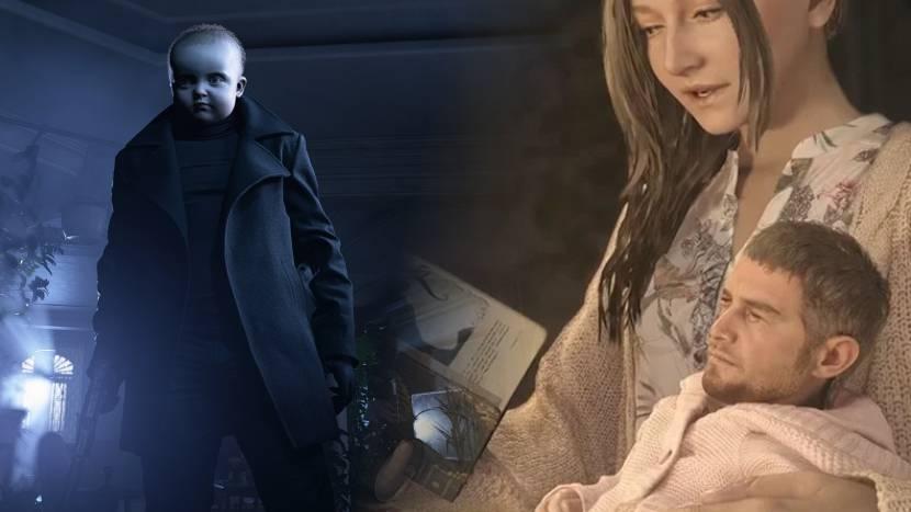 Resident Evil Village baby mods zijn hilarisch en eng tegelijk