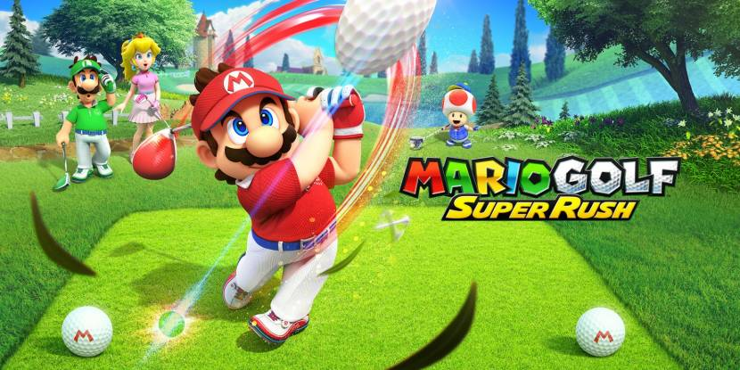 Chaos op de green in Mario Golf: Super Rush