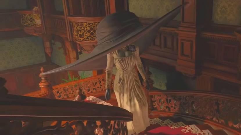 Met deze Resident Evil Village mod wordt de hoed van Lady Dimitrescu steeds groter en groter