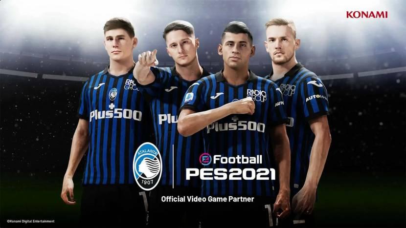 Ook Atalanta exclusief in eFootball PES 2022