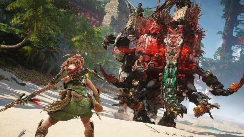 Horizon Forbidden West toont indrukwekkende gameplay