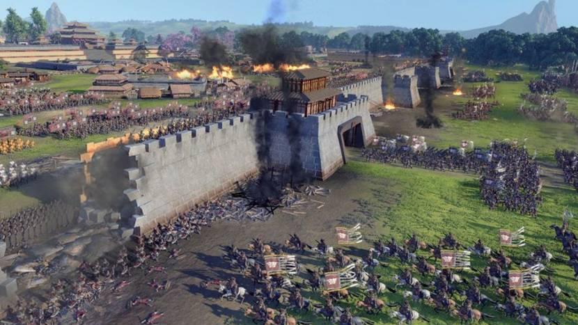 Boze fans droppen review bombs op Total War: Three Kingdoms