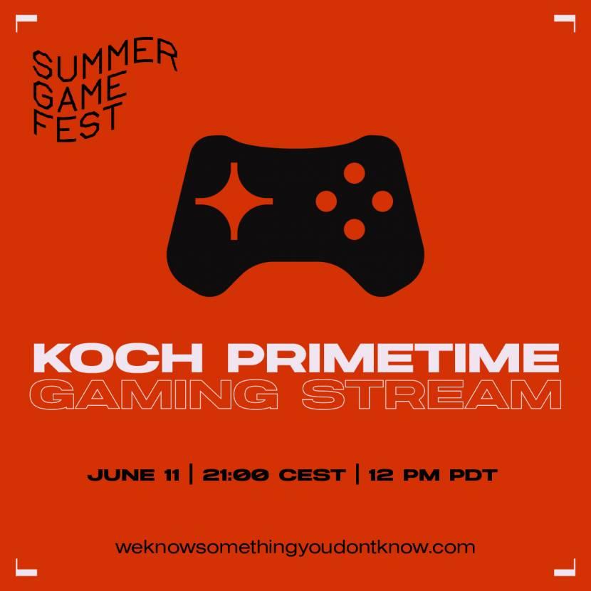 Ook Koch houdt eigen showcase voor E3