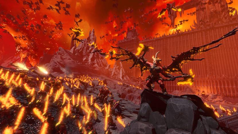 Vrees Khorne en zijn troepen in Total War: Warhammer 3