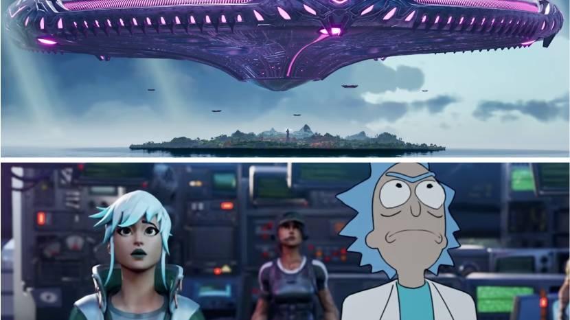 Fortnite Season 7 brengt UFO's, Superman, Rick & Morty en meer met zich mee