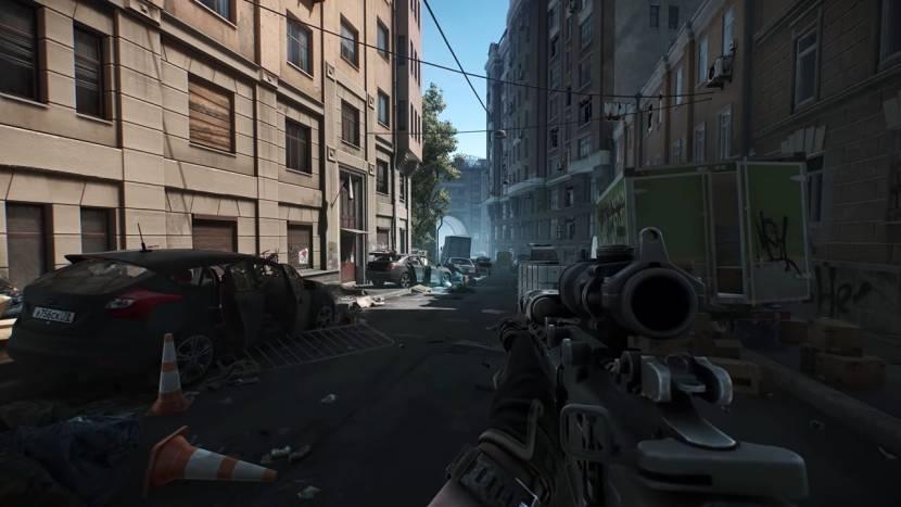 Actievolle trailer toont Streets of Tarkov