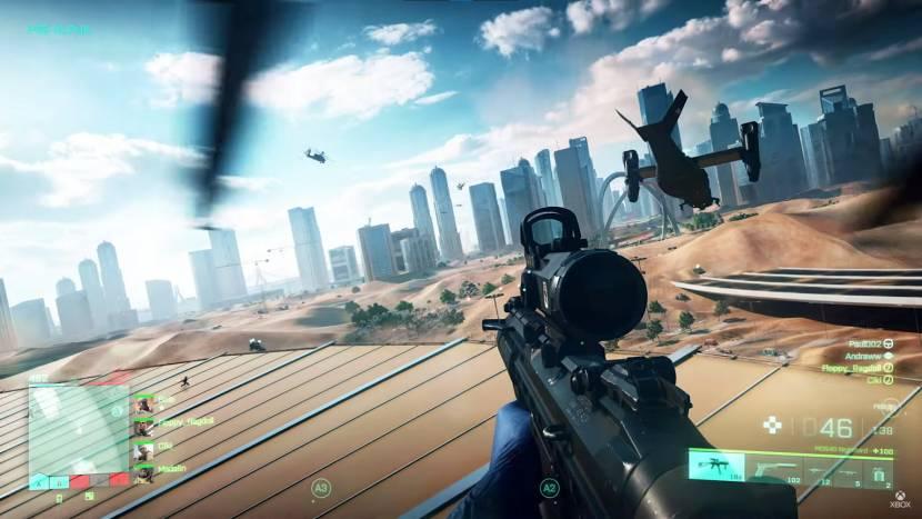 Battlefield 2042 toont eerste gameplay met gigantische maps