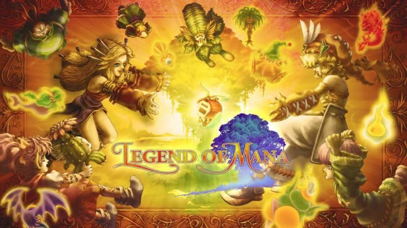 Kijk naar de opening movie van Legend of Mana