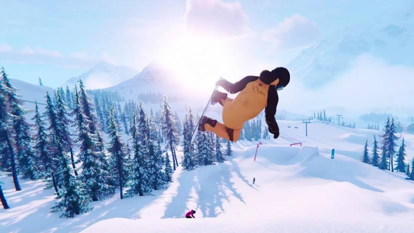 Scheur door de sneeuw in Shredders
