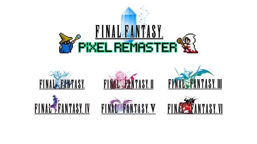 Square Enix remastert eerste zes Final Fantasy-games