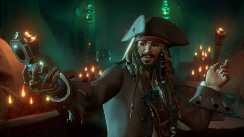 Pirates of the Carribean komt naar Sea of Thieves