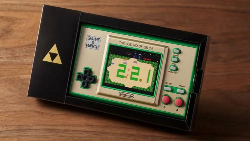 Nintendo onthult Game & Watch handheld met drie klassieke Zelda games