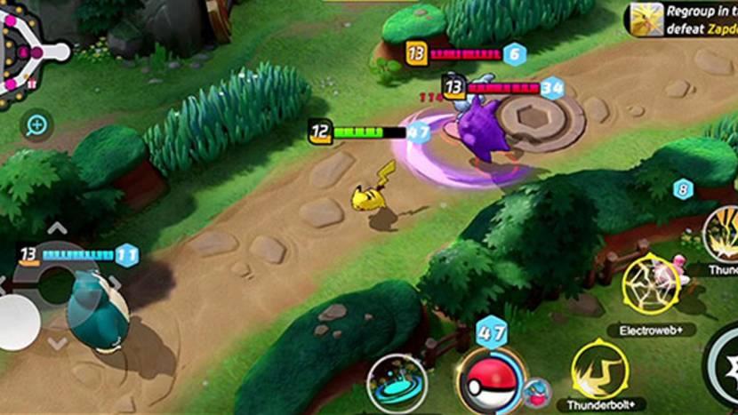 Free-to-play Pokémon MOBA volgende maand naar Nintendo Switch, in september naar mobile