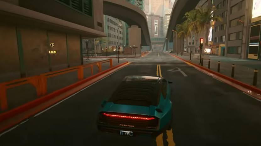 Cyberpunk 2077 op PS4: betere performance, maar minder voetgangers en voertuigen?