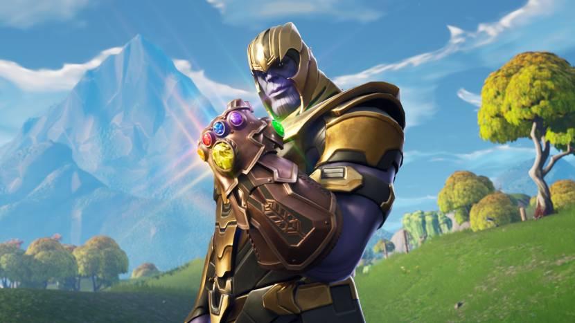 Thanos binnenkort te koop in Fortnite